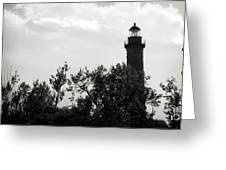 Lighthouse Greeting Card by Michelle Wermuth
