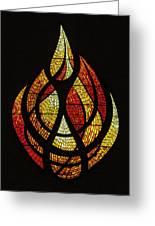 Lighting The Way - Wayland Kaltwasser Flame Greeting Card