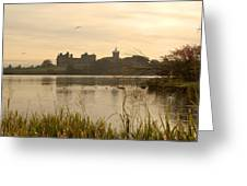 Linlithgow Palace At Dusk Greeting Card