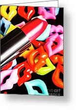 Lip Stack Greeting Card