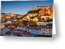 Lisbon. Image Of Lisbon, Portugal Greeting Card
