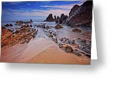 Little Corona Del Mar Beach Vi Greeting Card