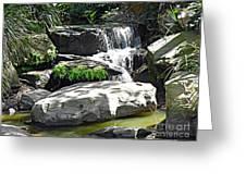 Little Waterfall. Greeting Card