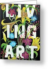 Living Art Greeting Card