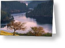 Llyn Brianne Sunrise Greeting Card by Elliott Coleman