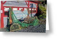 Lobster Pond Restaurant In Halls Harbour Ns Greeting Card