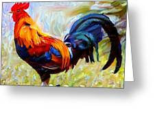 Local Chickens Greeting Card