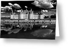 Loire Castle, Chateau De Chambord Greeting Card