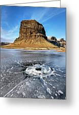 Lomagnupur Mountain Iceland Greeting Card