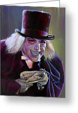 Lon Chaney In London After Midnight Greeting Card