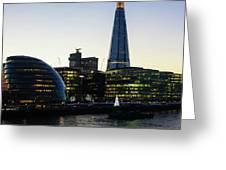 London South Bank 1 Greeting Card