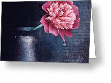 Lonely Peony Greeting Card