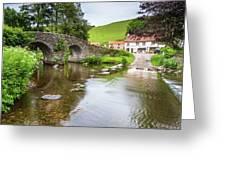 Lorna Doone Farm Greeting Card