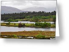 Lough Cloonee  Greeting Card