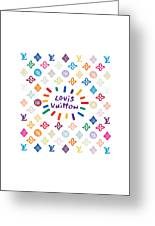 Louis Vuitton Monogram-10 Greeting Card
