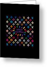 Louis Vuitton Monogram-11 Greeting Card