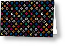 Louis Vuitton Monogram-2 Greeting Card