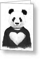 Lovely Panda  Greeting Card