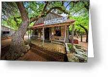 Luckenbach Town Greeting Card