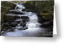 Lumsdale Falls 11.0 Greeting Card