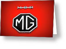 M G B Sports Car Emblem And Logo Photograph By Nick Gray