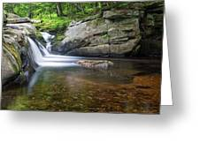 Mad River Falls Greeting Card