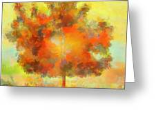 Magical Tree Greeting Card by Dan Sproul
