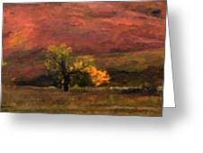 Magnificent Autumn Colors Greeting Card by Gerlinde Keating - Galleria GK Keating Associates Inc