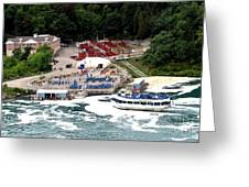 Maid Of The Mist Tour Boat At Niagara Falls Greeting Card by Rose Santuci-Sofranko