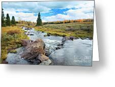 Mammoth Autumn Greeting Card