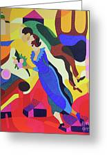 Marc And Bella Chagall Greeting Card