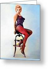 Marilyn Monroe, Portrait Greeting Card