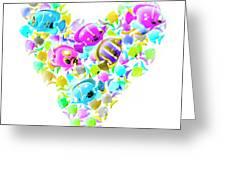 Marine Love Greeting Card
