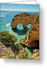 Marinha Arches, Portugal Greeting Card