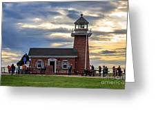 Mark Abbott Memorial Lighthouse And Santa Cruz Surfing Museum Greeting Card