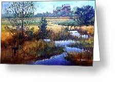 Marsh Living Greeting Card