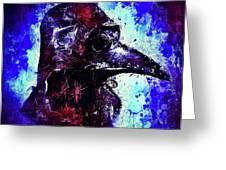 Plague Mask 3 Greeting Card