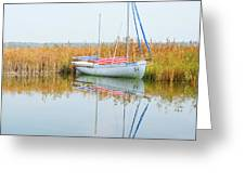 Masovian Lake Greeting Card