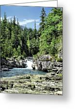 Mcdonald Creek 1 Greeting Card