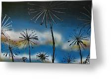 Meadow At Dawn Greeting Card