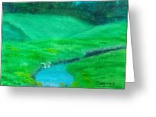 Meadow Beauty Greeting Card