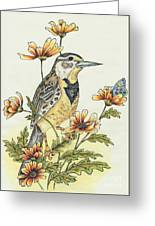 Meadow Song Greeting Card