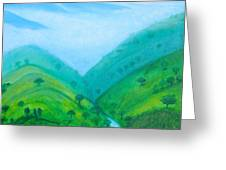 Medellin Natural Greeting Card by Gabrielle Wilson-Sealy