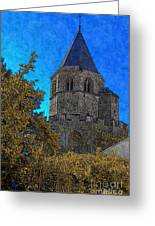 Medieval Bell Tower 3 Greeting Card
