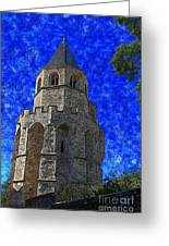 Medieval Bell Tower 4 Greeting Card