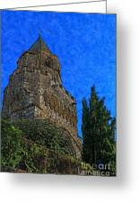 Medieval Bell Tower 5 Greeting Card