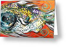 Mediterranean Fish Greeting Card