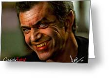 Mel Gibson Greeting Card