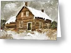 Memories Of Winters Past Greeting Card