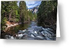 Merced River, Yosemite National Park Greeting Card